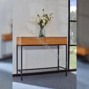 MERICK-CO Coffee Table With Oak Paper Veneer