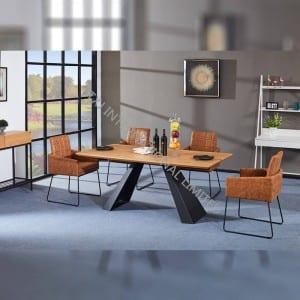 TD-1833 MDF Dining Table,Modern design