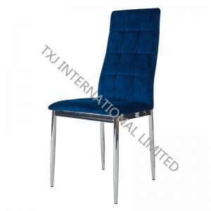 BC-1552 Velvet lumi Chair Me ikona wāwae
