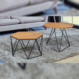 TT-1835W  MDF Coffee Table Oak Color