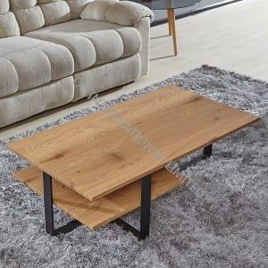 TT-1307 MDF Coffee Table With Paper Veneer